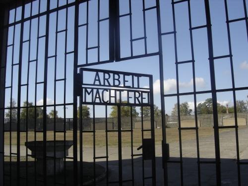 Puerta de acceso a Sachsenhausen