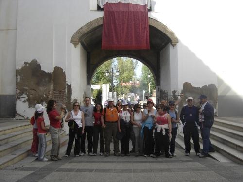 La peregrinación arranca del Arco de San Torcuato de Guadix