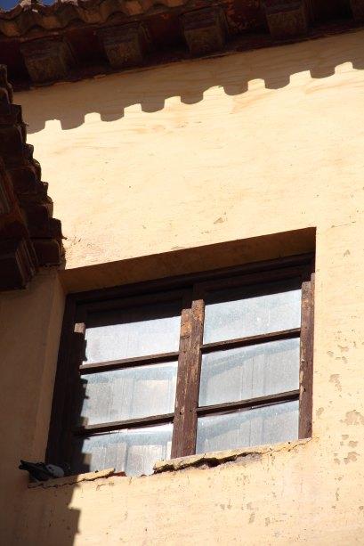 La luz del otoño en Guadix: de tierra, tostada, de tarde